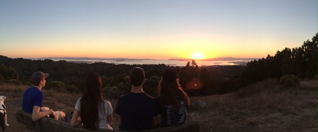 Tilden - Group Sunset Panorama